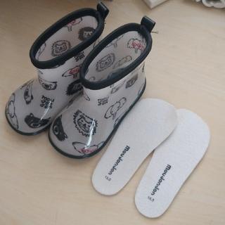 ムージョンジョン(mou jon jon)の15センチ★長靴 ムージョンジョン 動物柄(長靴/レインシューズ)