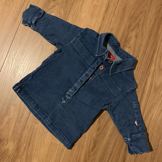 シップス(SHIPS)のSHIPS トップス デニム 五分袖(Tシャツ/カットソー)