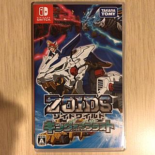 Nintendo Switch - 美品☆彡初回ゾイドワイルド キング オブ ブラスト