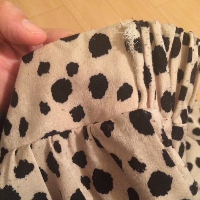 tocco(トッコ)の※追記あり 人気♡  ダルメシアン柄 スカート レディースのスカート(ひざ丈スカート)の商品写真