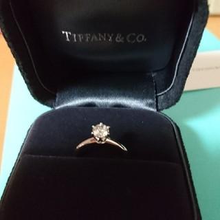 ティファニー(Tiffany & Co.)の【値下げ!】ティファニー ダイヤモンドリング(リング(指輪))