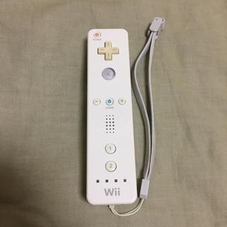 ウィー(Wii)のWiiリモコン ホワイト(その他)