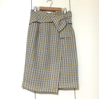 JUSGLITTY - 【美品】トラッドチェックタイトスカート