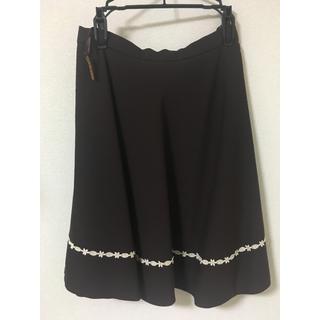 プライムパターン(PRIME PATTERN)のプライム 茶色のスカート(ひざ丈スカート)