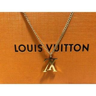 LOUIS VUITTON - LOUIS VUITTON アップサイドダウン ネックレス ゴールド