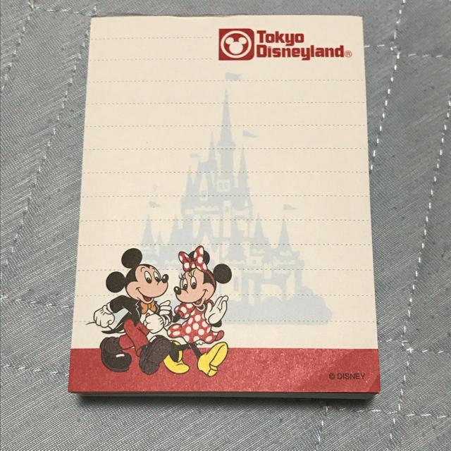 Disney(ディズニー)のTDL◆25周年 ミッキー&ミニー◆メモ帳◆復刻版 インテリア/住まい/日用品の文房具(ノート/メモ帳/ふせん)の商品写真