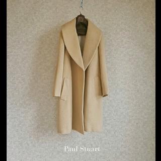 Paul Stuart - 上級 美品 ポールスチュアート おしゃれコート 豪華モダンシンプルスタイル
