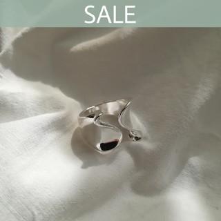 アングリッド(Ungrid)の【数量限定SALE】silver wave ring *(リング(指輪))
