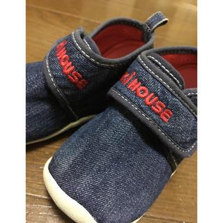 ミキハウス(mikihouse)のミキハウス靴12.5センチ(スニーカー)