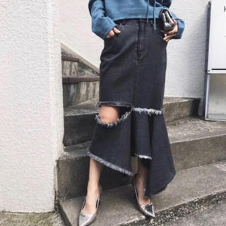 Ameri VINTAGE - 新品同様 AMERI アシンメトリーデニムスカート