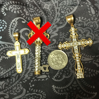 アヴァランチ(AVALANCHE)のまとめ売り セット 10金 キー クロス (ネックレス)