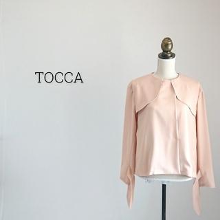 トッカ(TOCCA)のTOCCA トッカ ジャケット(ノーカラージャケット)