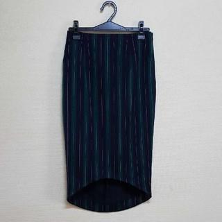 ルシェルブルー(LE CIEL BLEU)のルシェルブルー ◇ 完売ストライプスカート(ひざ丈スカート)