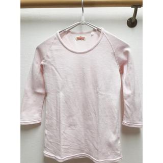 ハリウッドランチマーケット(HOLLYWOOD RANCH MARKET)のハリウッドランチマーケットストレッチフライス UスリーブTシャツ(七分袖)(Tシャツ(長袖/七分))