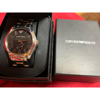 エンポリオアルマーニ(Emporio Armani)の時計(金属ベルト)