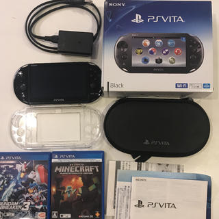 PlayStation Vita - プレイステーション Vita ヴィータ 本体+カセットなど