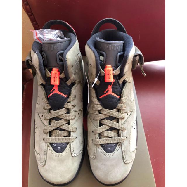 NIKE(ナイキ)のTRAVIS SCOTT Х AIR JORDAN6  24cm レディースの靴/シューズ(スニーカー)の商品写真