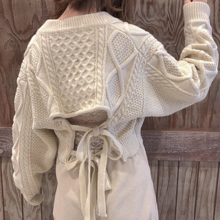 TODAYFUL - Pretzel knit
