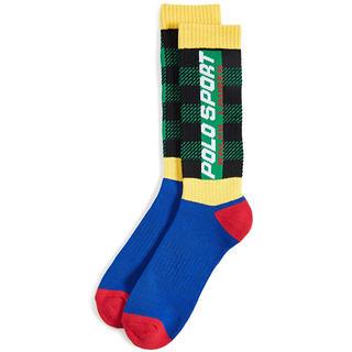 ポロラルフローレン(POLO RALPH LAUREN)のポロスポーツ Buffalo Plaid Combo Slack Socks(ソックス)