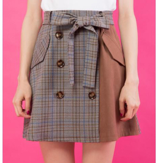 CECIL McBEE - 【新品未使用】CECILMcBEE 秋服 チェックスカート