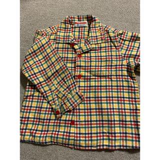 ミキハウス(mikihouse)のミキハウス ネルシャツ サイズ90(ブラウス)