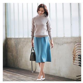 DEUXIEME CLASSE - SLOANE メリノウールジャガードスカート