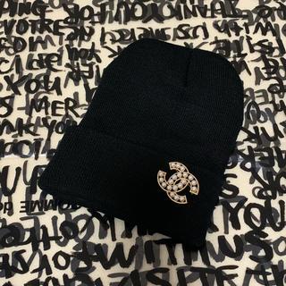 CHANEL - 💫CHANEL ニット帽 ブラック💫