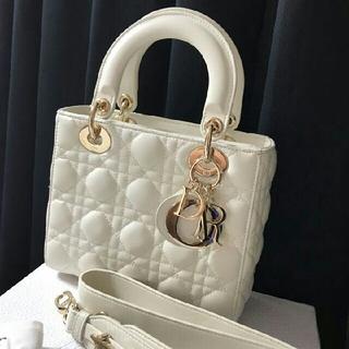 Dior - Christian Dior クリスチャン ディオール ラムスキン バッグ