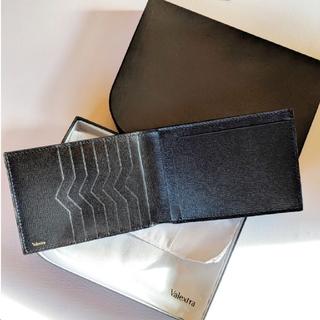 ヴァレクストラ(Valextra)の【新品】Valextra ヴァレクストラ メンズ 二つ折り財布(折り財布)