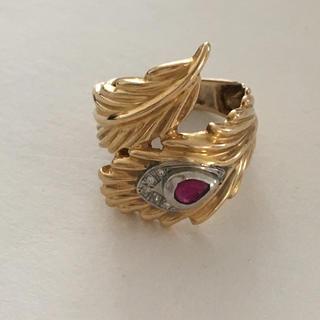 ルビーリング☆K18☆6.98g(リング(指輪))