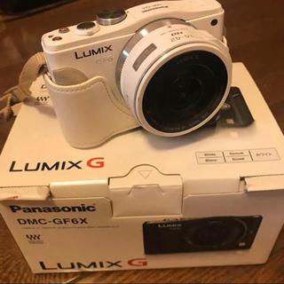 Panasonic - LUMIX ルミックス 一眼レフ カメラ DMC-GF6 箱付き