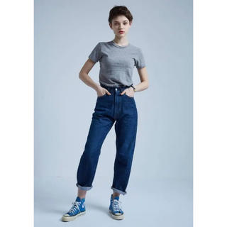 Shinzone - THE SHINZONE  HIGH WAIST DENIM PANTS  32