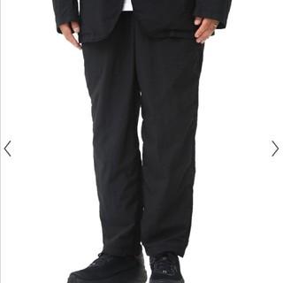コモリ(COMOLI)のTEATORA ウォレットパンツ packable 46 パンツ 黒(スラックス)