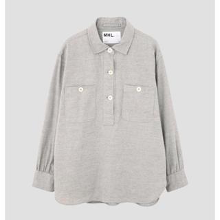 マーガレットハウエル(MARGARET HOWELL)のシャツ ポロシャツ 長袖 MHL(ポロシャツ)