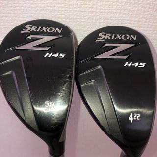Srixon - ダンロップ スリクソン  SRIXON Z H45 U3 U4