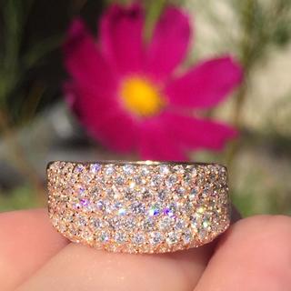 750    美しきダイヤモンドパヴェ 1.305ct  リング(リング(指輪))