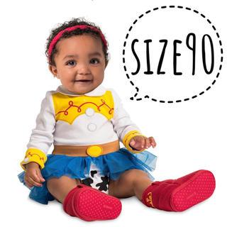 トイストーリー(トイ・ストーリー)の海外ディズニーストア ジェシー トイストーリー4 コスチューム 仮装 赤ちゃん(ワンピース)