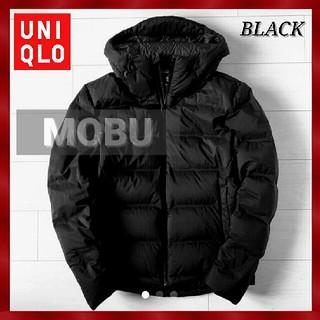 UNIQLO - ★【UNIQLO】シームレスダウンパーカ BLACK 美品