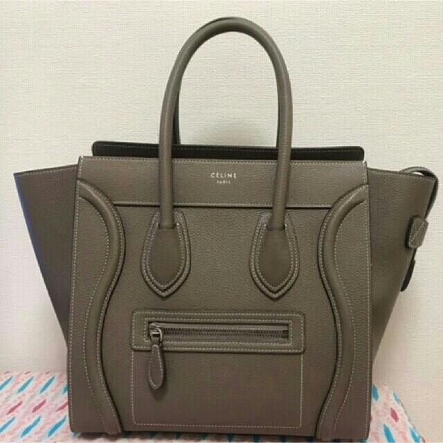 celine(セリーヌ)のCELINE セリーヌ ラゲージマイクロ レディースのバッグ(ハンドバッグ)の商品写真