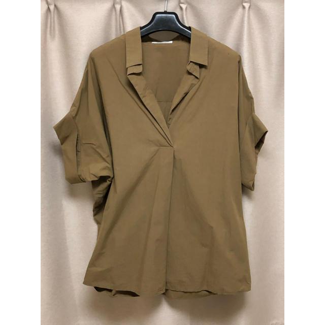 Plage(プラージュ)のplage スキッパーシャツ プラージュ レディースのトップス(シャツ/ブラウス(半袖/袖なし))の商品写真