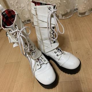 ゴスロリ 厚底ブーツ(ブーツ)
