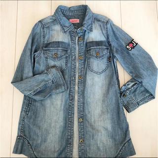 JENNI - 140❤️ロング丈デニムシャツ・ジャケット