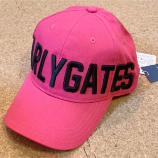 新品■7,700円【パーリーゲイツ 】 キャップ  帽子 ユニセックス