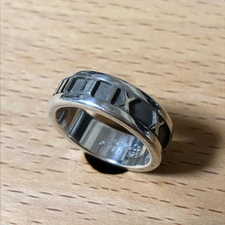 ティファニー(Tiffany & Co.)の美品ティファニー人気NO.1シリーズ アトラスのワイドデザインリング(リング(指輪))