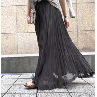 L'Appartement DEUXIEME CLASSE - L'Appartement ◇Pleats Skirt  ブラウン  新品