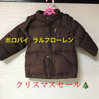 ポロラルフローレン(POLO RALPH LAUREN)のポロバイ  ラルフローレン   中綿ダウンコート90cm クリスマスセール(コート)