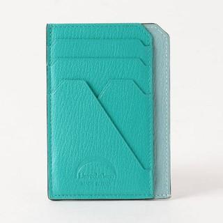 バーニーズニューヨーク(BARNEYS NEW YORK)のラルコバレーノ スマートミニウォレット ブルー ミニ財布(財布)