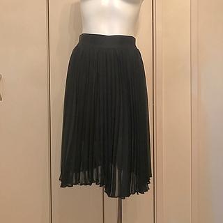 アドーア(ADORE)のアドーア 美品 シフォン プリーツスカート(ひざ丈スカート)