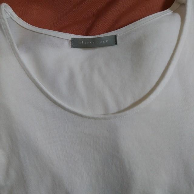 Theory luxe(セオリーリュクス)のtheory   luxe  (7分Tシャツ) レディースのトップス(Tシャツ(長袖/七分))の商品写真