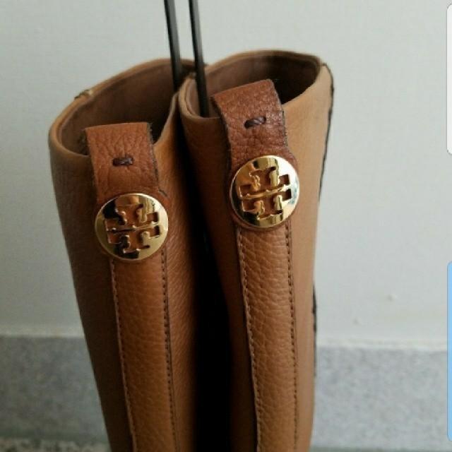 Tory Burch(トリーバーチ)のTory Burch  キャメル ロングブーツ  レディースの靴/シューズ(ブーツ)の商品写真